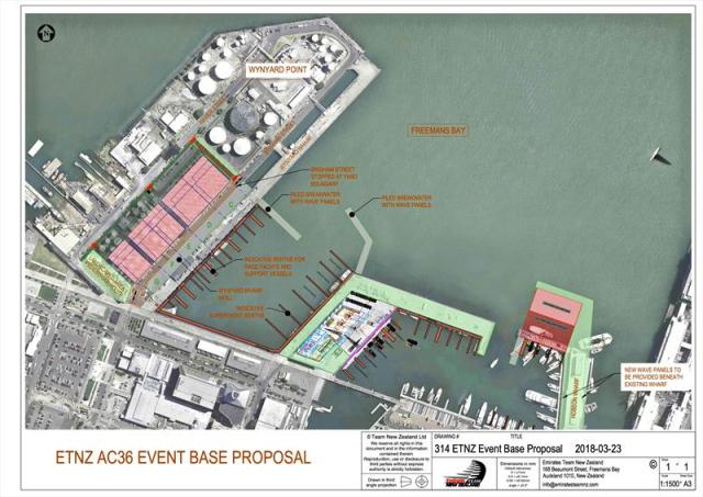 36 America's Cup , Auckland