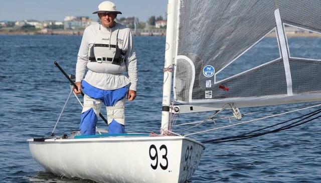Gus Miller Finn dinghy
