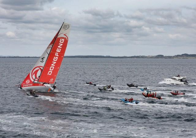 volvo Ocean Race, Etappe 11, Leg 11