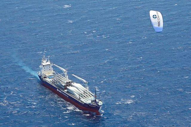 Kite, Antrieb, Frachter