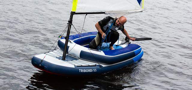 Jolle Tribord 5S von Decathlon