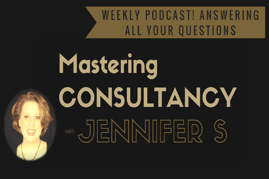 The Mastering Consultancy Show with Jennifer S