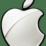 Apple logo from Wikipedia