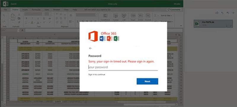 A Microsoft revelou que uma campanha de spear-phishing de um ano teve como alvo clientes do Office 365 em vários ataques a partir de julho de 2020.