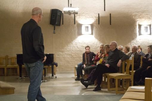 Ärkebiskop emeritus KG Hammar föreläser på vintermötet