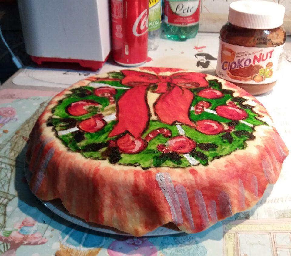 Pasta frolla artistica tema natalizio