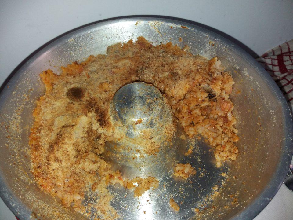 Timballo di riso senza uova