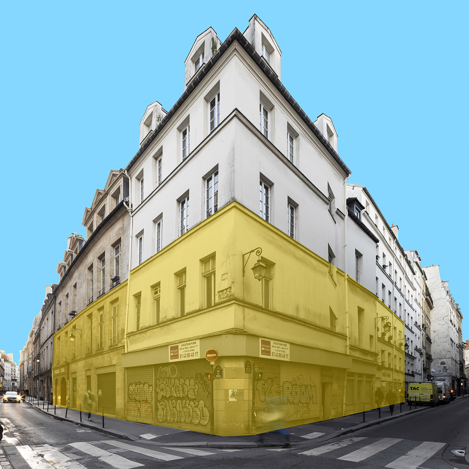 JR inaugura Galleria Continua Paris