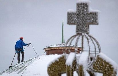 Москва останется без крещенских морозов в ночь на 19 января