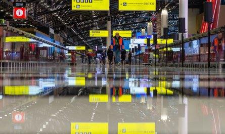 """В аэропорту """"Шереметьево"""" открылся новый международный терминал C"""
