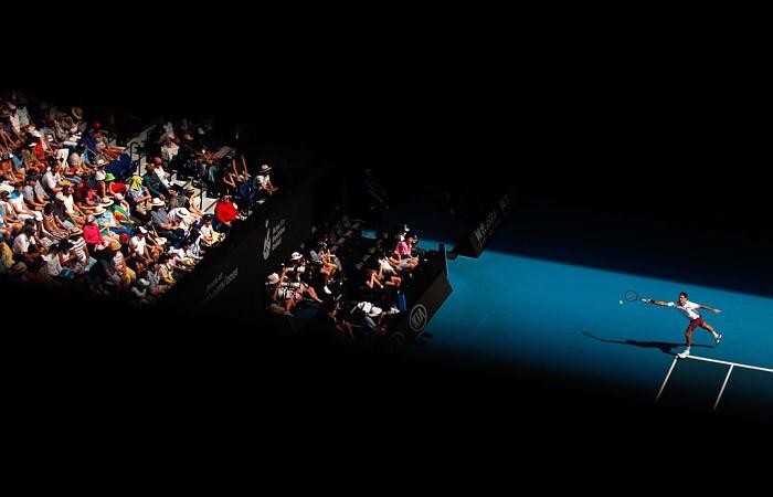 Федерера оштрафовали на $3000 за брань на Australian Open