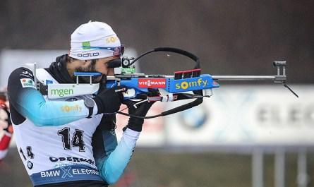 Мартен Фуркад выиграл масс-старт на этапе Кубка мира по биатлону