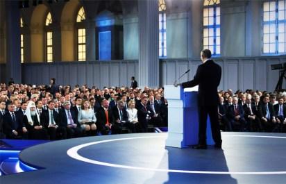 Президент сообщил о разработке Россией уникального оружия нового поколения