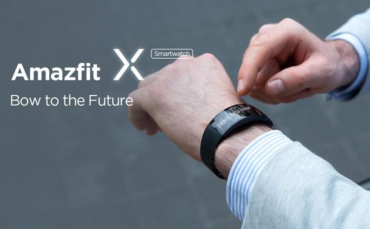 Смарт-часы Amazfit X получили изогнутый дисплей AMOLED и приёмник GPS