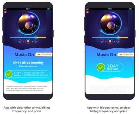 Google «объявила войну» скрытым подпискам в Android-приложениях