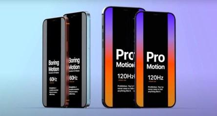 Слух: iPhone 12 Pro получит дисплей ProMotion 120 Гц и трёхкратный оптический зум