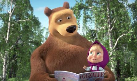 «Маша и Медведь» вошли в топ-5 мировых детских шоу
