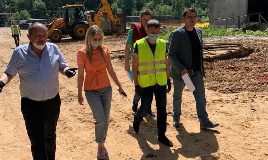 Количество рабочих на стройплощадке ЖК «Терлецкий парк» будет увеличено в 4 раза к 1 июля