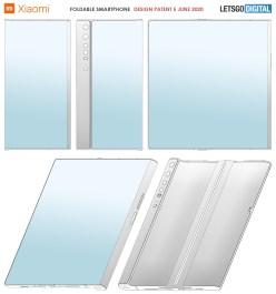 Xiaomi запатентовала сгибаемый смартфон с защёлкой для дисплея
