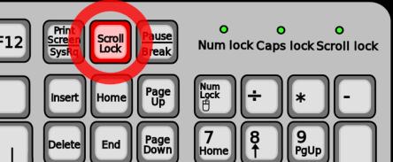 Для чего на клавиатуре нужна клавиша Scroll Lock?