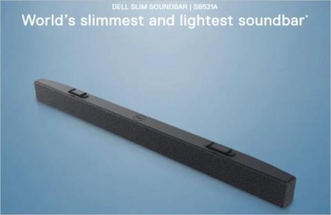 Dell выпустила ультратонкий саундбар весом меньше смартфона