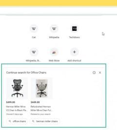 На главной странице Chrome появилась реклама
