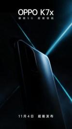 OPPO раскрыла дату презентации смартфона K7x на официальном тизере