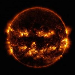 NASA показало уникальное изображение «чёрного» Солнца