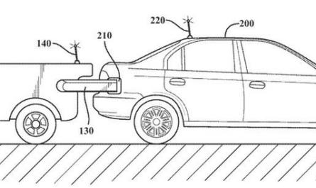 Toyota запатентовала самоуправляемого робота-заправщика для электрокаров