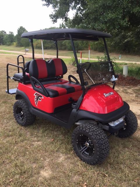 Atlanta Falcons Club Car Golf Cart
