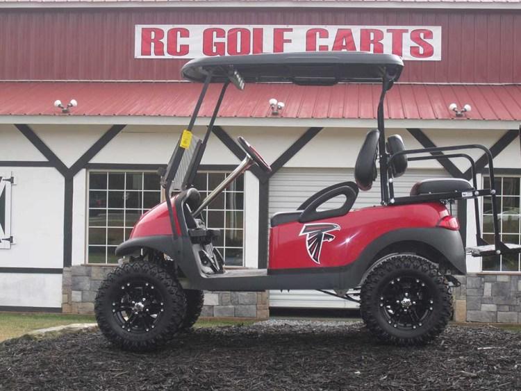 Custom Atlanta Falcons Club Car Southeastern Carts