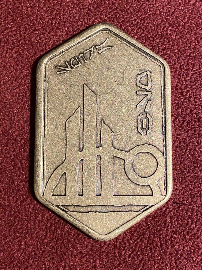 Batuuan Spira coin, front side.