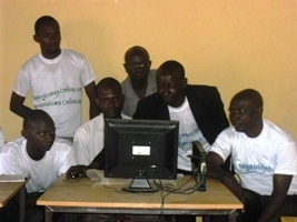 Une formation de bloging par Internet mobile et par sms dans les villages maliens  (4/4)