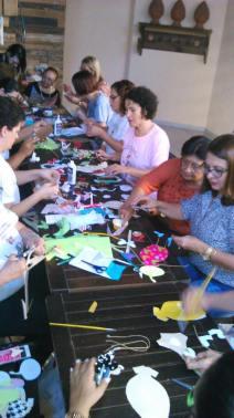 Workshop de bonecas de papel