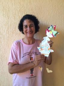 Thereza Maria, a idealizadora da Campanha