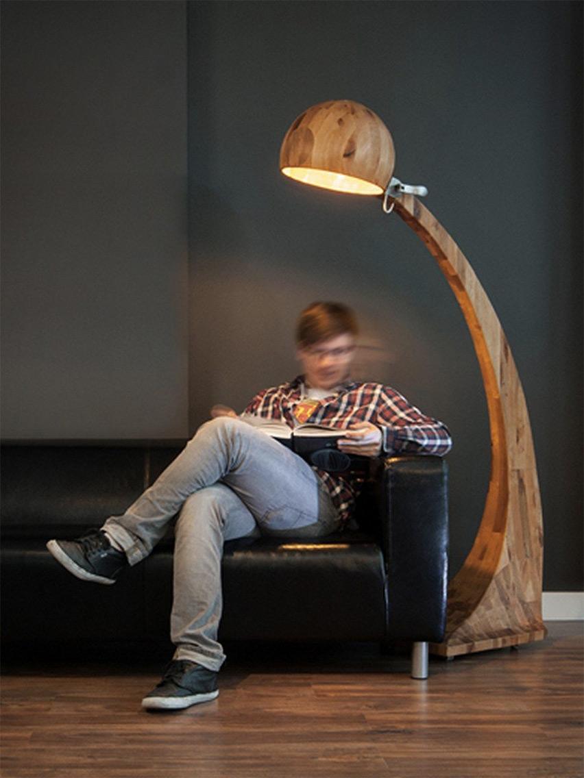 Luminária de Pé para estudo
