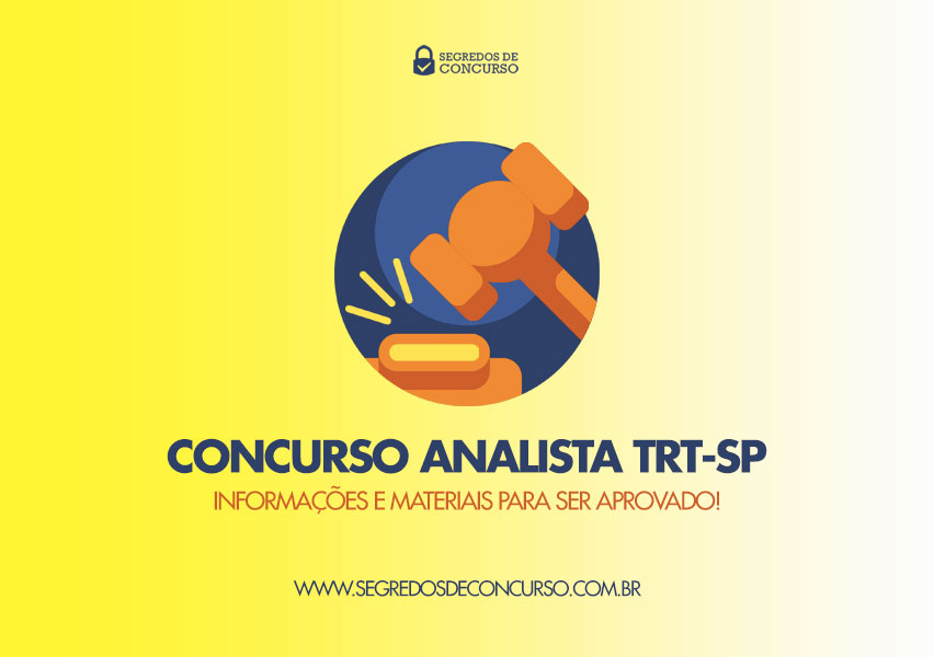Concurso Analista TRT-SP