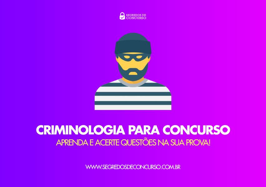apostila de criminologia para concursos