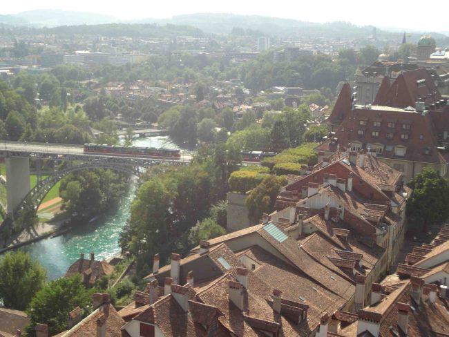 Vista de Berna na Suíça