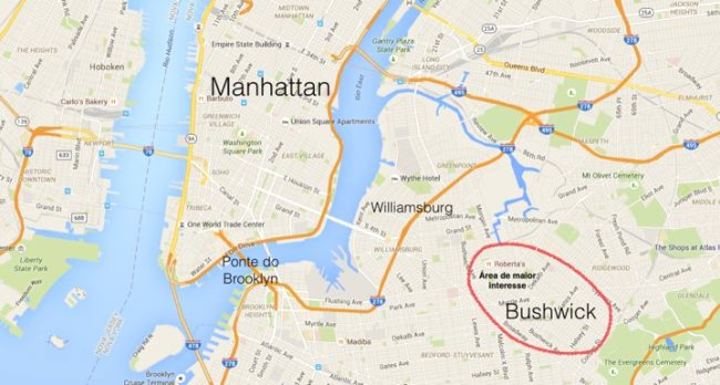 Bushwick_mapa