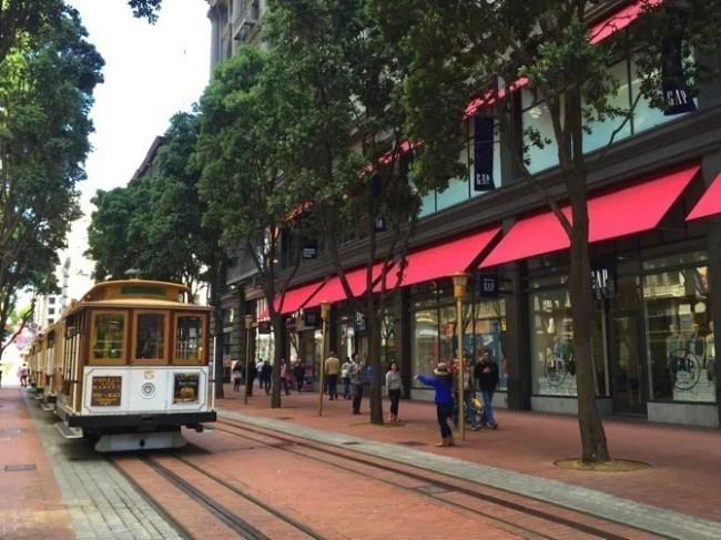 Icônico bondinho de São Francisco
