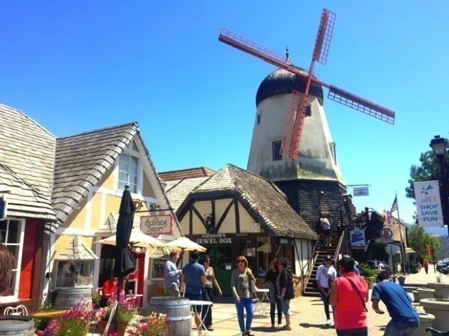 Solvang... it can be a trap!