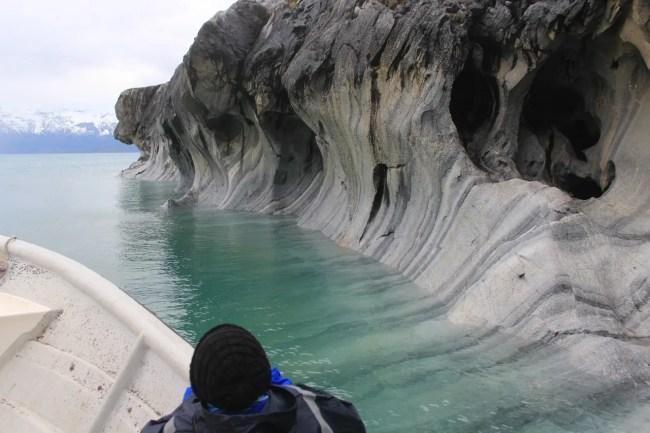 Capillas de Marmol, na Patagônia Chilena