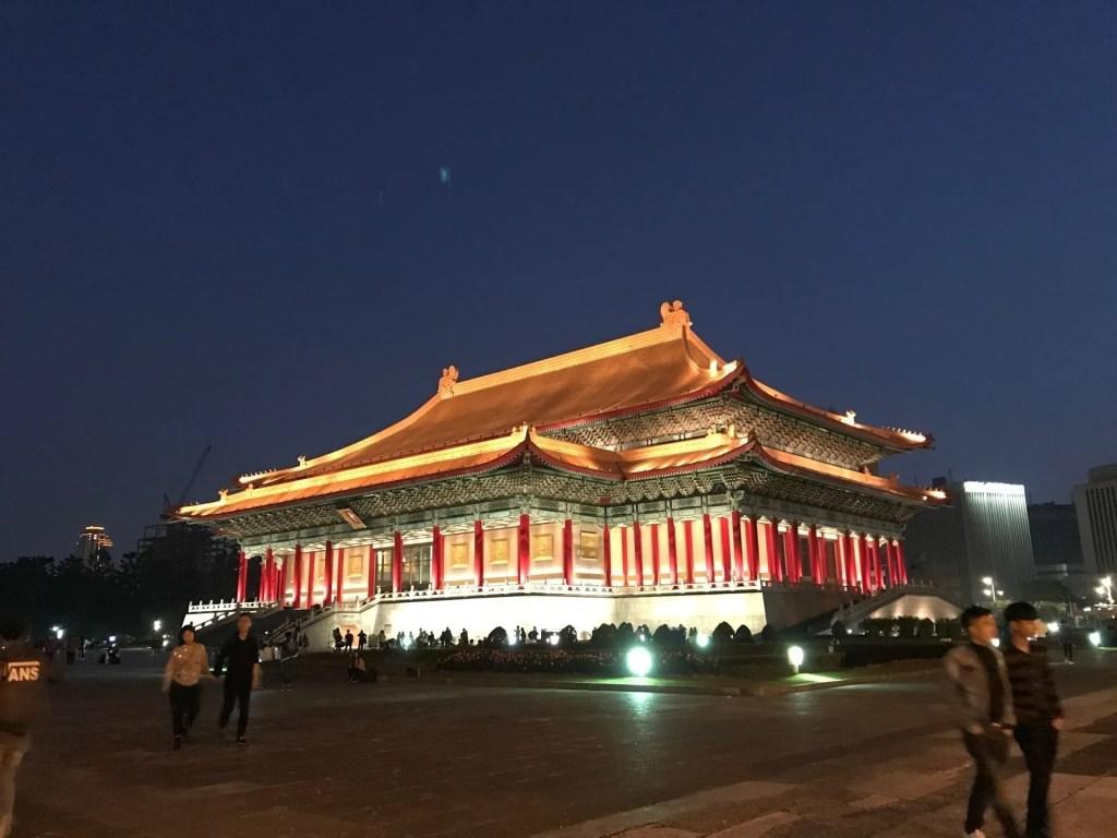 Memorial Chiang Kai-shek, uma das atrações em Taipei