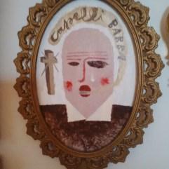 Il barbiere (vetrocromia 14x20 cm, Uwe Jäntsch, 2016) ph. Luca Mangogna