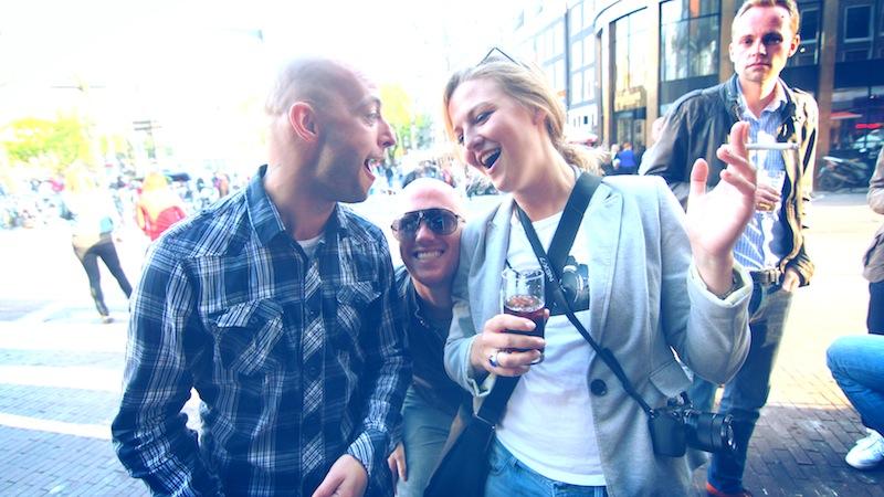 To, co mnie najbardziej urzekło w Amsterdamie, to ludzie. Otwarci, uśmiechnięci, kontaktowi.