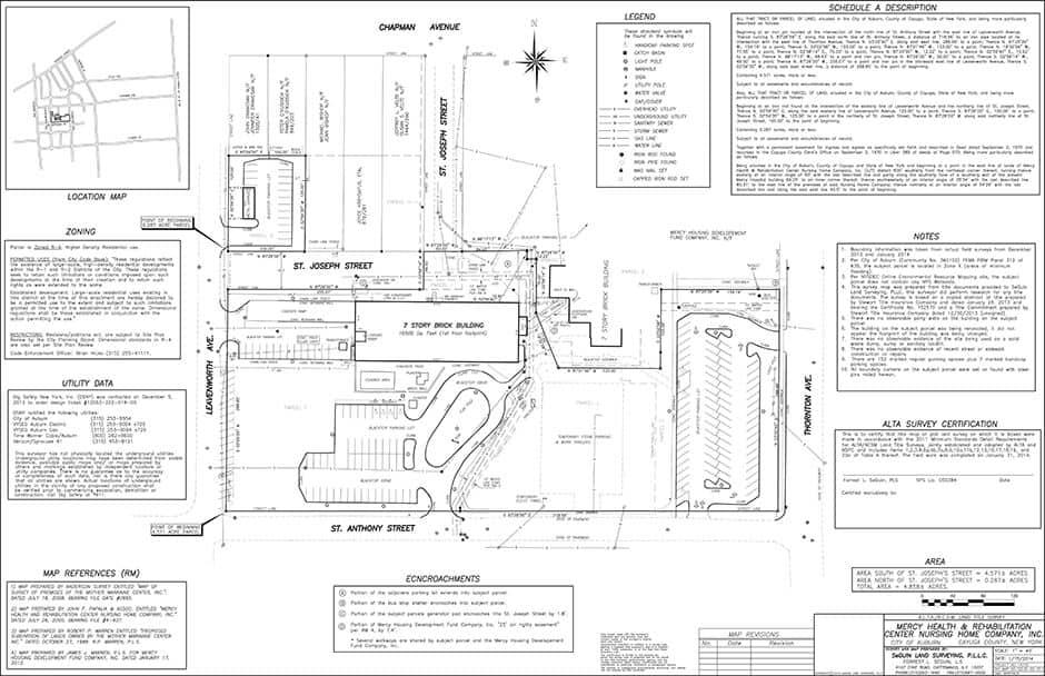 ALTA/ACSM Land Title Survey