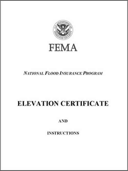 FEMA Elevation Certificates by Seguin Land Surveying