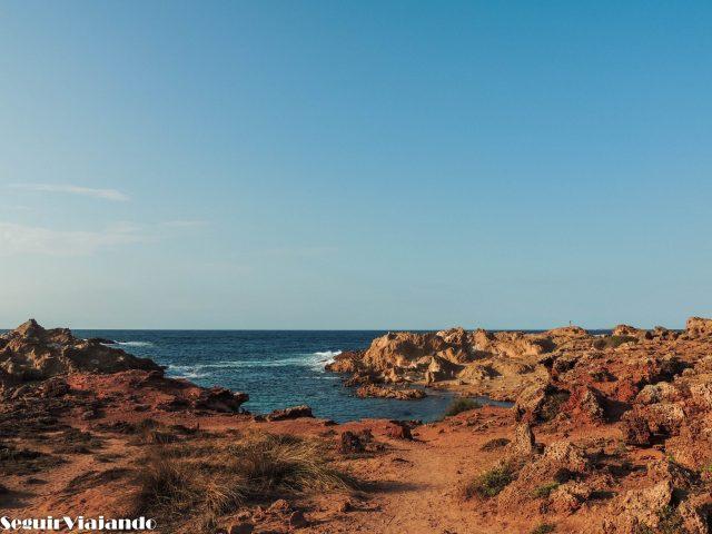 Itinerario Menorca Cala Pregonda - Seguir Viajando