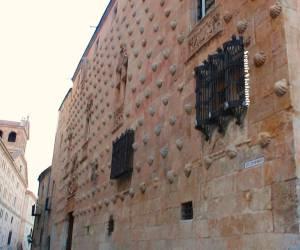 Fachada Casa de las Conchas de Salamanca